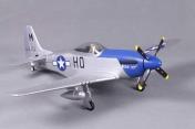 Радиоуправляемая модель самолета P-51D Mustang (Новая версия со стабилизацией полета)