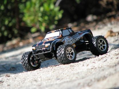 Автомобиль HPI Mini Recon Monster Truck 4WD 1:18 2.4GHz EP