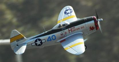 Радиоуправляемый самолёт Republic P-47 Thunderbolt 800 Series RTF New V2