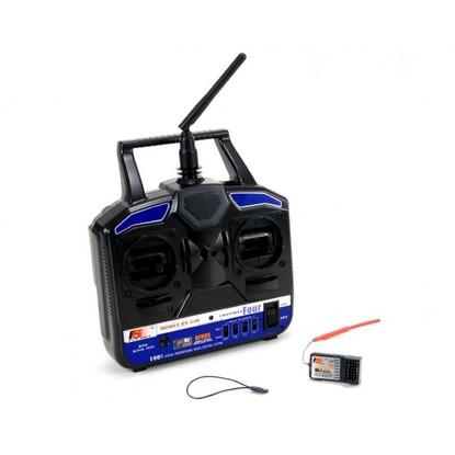 Аппаратура управления FlySky FS-T4B 2.4GHz с приёмником R6B
