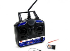 Аппаратура управления FlySky FS-T4B 2.4GHz с приёмником R6B-фото 1