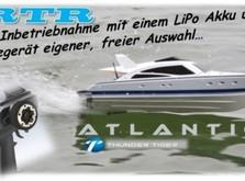 Радиоуправляемая яхта Thunder Tiger Atlantic 744 мм 2.4GHz RTR-фото 9