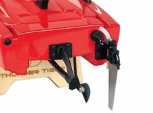 Радиоуправляемый катер Thunder Tiger Madcat OBL 690 мм 2.4GHz RTR Red-фото 6