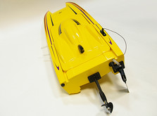 Радиоуправляемый катер Thunder Tiger Madcat OBL 690 мм 2.4GHz RTR Red-фото 4