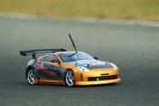 Радиоуправляемая модель SPARROWHAWK DX II Nissan 350Z Orange-фото 1