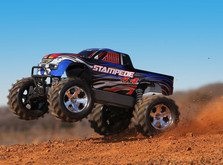 Монстр Traxxas Stampede  Brushless 4WD масштаб 1:10-фото 2