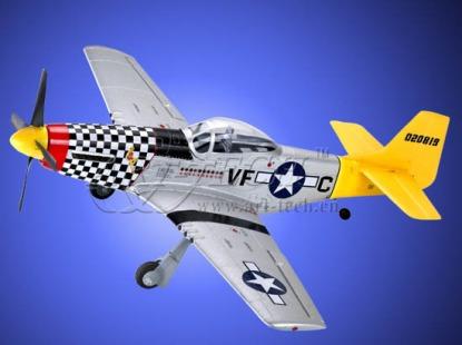 Cамолет на радиоуправлении Art-Tech P-51D Mustang 400CL
