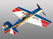 Радиоуправляемая модель пилотажного самолета  Art-Tech Як-54 2.4GHz RTF-фото 4