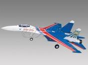 Радиоуправляемая модель реактивного самолета  Су-27 2.4GHz (RTF Version)-фото 1
