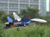 Радиоуправляемая модель реактивного самолета  Су-27 2.4GHz (RTF Version)-фото 3