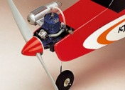 KYOSHO 40 TRAINER CALMATO CARDINAL RED-фото 5