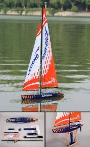 Парусная яхта на радиоуправлении  Legend RC 2.4 Ghz (RTR Version)-фото 6