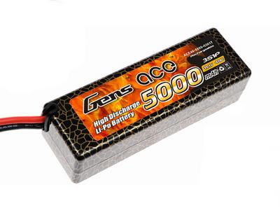Аккумулятор AE Gens Ace Li-Po  battery 11.1V 5000 mAh 3S1P 40C Hard Case