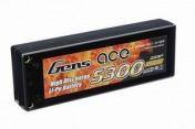 Купить  аккумулятор AE Gens Ace Li-Po battery 7.4V 5300 mAh 2S1P 30C Hard Case в магазине Тяга! Огромный выбор аккумуляторв и зарядных устройств для радиоуправляемых моделей машин, самолётов, катеров!
