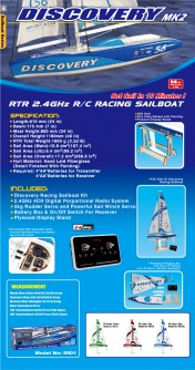 Яхта радиоуправляемая парусная  Discovery RC 2.4 GHz ( RTR Version)-фото 2