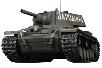 Радиоуправляемый танк KV-1B Airsoft/JR