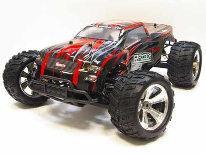 Монстр Raider Mega E8MTL Brushless масштаб 1:8