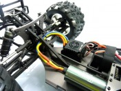 Монстр Raider Mega E8MTL Brushless масштаб 1:8-фото 4