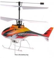 Вертолет Nine Eagle Draco 2.4 GHz (Yellow RTF Version) в кейсе + допкомплект-фото 2