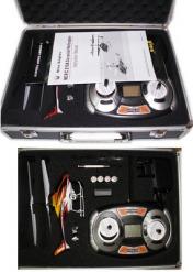 Вертолет Nine Eagle Draco 2.4 GHz (Yellow RTF Version) в кейсе + допкомплект-фото 6