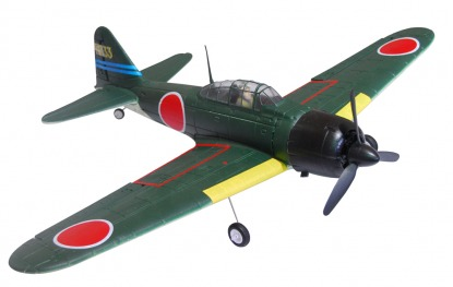 Модель самолета на радиоуправлении Mitsubishi  A6M3 ZERO