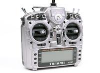 16-канальная радиоаппаратура FrSky Taranis с поддержкой телеметрии , приемником X8R и алюминиевым кейсом