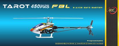 Радиоуправляемая модель вертолета Tarot 450PRO V2 FBL (kit)