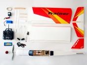 Тренировочная радиоуправляемая модель самолета TIGER TRAINER OBL 2.4GHz Mode 2-фото 7