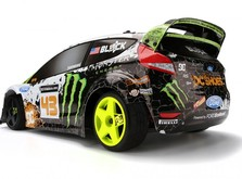 Радиоуправляемый автомобиль HPI Ken Block WR8 Flux w\Ford Fiesta H.F.H.V. body 1:8-фото 2