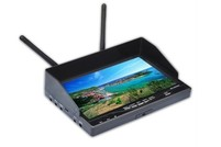 "Монитор для FPV Boscam 7"" 5,8 Ghz с двумя 32 приемниками на 32 канала и аккумулятором 2500 mAh"