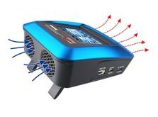 Зарядное устройство SkyRC T6755 с блоком питания и сенсорным дисплеем (оригинал)-фото 5