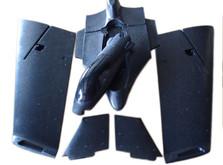 Летающее крыло для FPV Skywalker YF-0908 Falcon (черный)-фото 6
