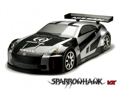 Радиоуправляемая модель автомобиля SPARROWHAWK VX NISSAN 350 Z