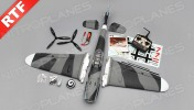 Радиоуправляемая модель самолета Messerschmitt BF-109G-фото 14