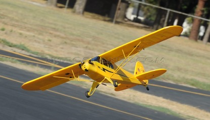Самолёт на радиоуправлении Piper J3 Cub
