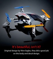 Квадрокоптер Nine Eagles Alien Drone-фото 2
