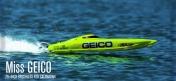 Радиоуправляемый катамаран PRO Boat USA Miss Geico 29 BL V2 2.4GHz RTR-фото 1