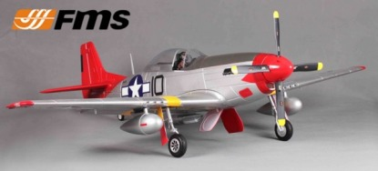 Радиоуправляемая модель самолета P-51D Mustang V7 Red Tail