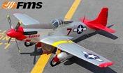 Радиоуправляемая модель самолета P-51D Mustang V7 Red Tail-фото 1