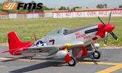 Радиоуправляемая модель самолета P-51D Mustang V7 Red Tail-фото 2