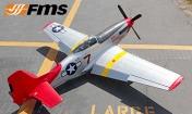 Радиоуправляемая модель самолета P-51D Mustang V7 Red Tail-фото 4