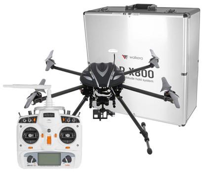 Квадрокоптер Walkera QR X800 для аэросъемки и FPV с пультом DEVO10 и подвесом G-3D RTF