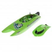 Радиоуправляемый катамаран Joysway Green Sea Rider MK2-фото 3