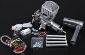 Профессиональный авиамодельный бензиновый двигатель JC30 EVO-фото 1