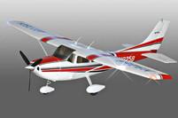 Купить Модель cамолета Sonic Modell Cessna 182 500 Class V2 1400 мм. Магазин радиоуправляемых моделей ТЯГА