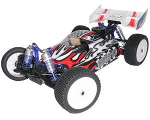 Автомобиль ACME Racing Warrior 4WD 1:8 2.4GHz Nitro 0.21cui (RTR Version)