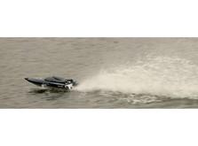 Радиоуправляемый катер Fei Lun FT011 Racing Boat 65см 2.4GHz с бесколлекторным электродвигателем.-фото 3