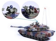 Танк на радиоуправлении M1A2 Abrams-фото 4