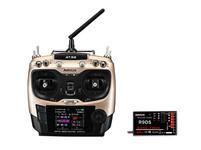 Радиоуправляемая авиа аппаратура 10к Radiolink AT9S с приемником R9DS