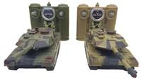 Танковый бой HuanQi 552 Leopard 2 масштаб 1:48